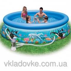 Puhallettavat uima-altaat