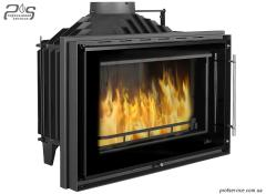Chimney fire chamber of UNIFLAM 850 PRESTIGE with