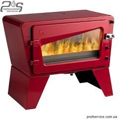 Чугунная печь Invicta CH'TI красная эмаль - 8 кВт