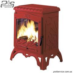 Чугунная печь Invicta Chambord красная эмаль - 10