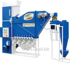 Zernoochistitelny air separator of SAD-5 with the