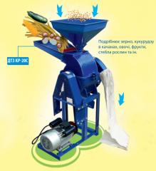 Корморезка + зернодробилка ДТЗ КР-20C (стебли +