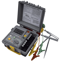 Resistance measuring instruments - microohmmeters