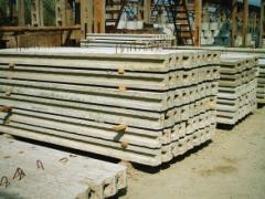 Столбы заборные железобетонные