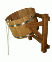 Bucket falls oak 10 l