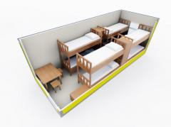 Строительная бытовка Модель ЕВРО 3