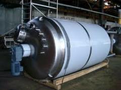 Реактор от 0,63м.куб. до 50м.куб