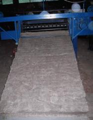 Mats from basalt superthin MagmaWool™ fiber (BSTV)