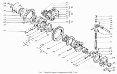 Дифференциал 4010.37.019  КПП колесного трактора