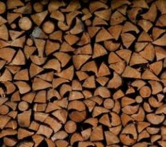 Firewood chipped chamber drying