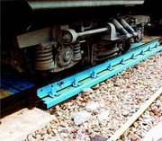 Scales are railway, Electronic carriage scales for