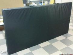 Мат спортивный гимнастический черный 1х2х(50мм)