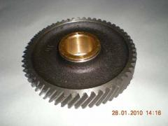 Gear wheels for agricultural machinery