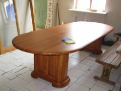 Стол деревянный, столы из натурального дерева