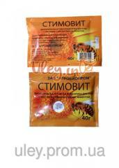 Stimovit (flower pollen, glucose, garlic extract)