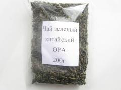 Чай зеленый Байховый по 16кг. крупный лист без
