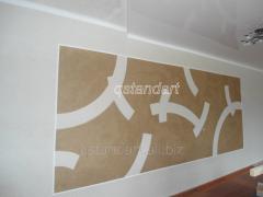 Рідкі шпалери - декоративне покриття для стін
