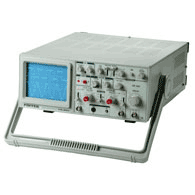 The oscillograph is two-channel