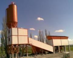 Concrete plant BZ-40-4, with a productivity up to