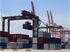 Rear pneumowheel container cranes (RTG)