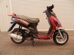 Скутер GMG50QT-6D Red