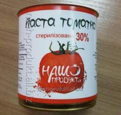 Tomato Paste, can, 30%, 0,375kg