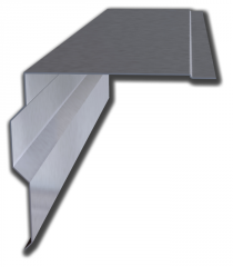 Level eaves Zinc