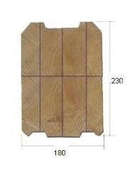 Брус профилированый для деревянных домов...