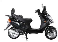 Скутер GM150T-10 Black