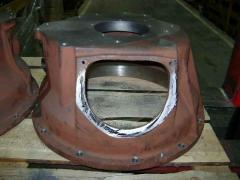 Chaining case for tractor