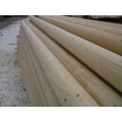The rounded bar diameter of 20 cm, it is long 4,5