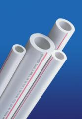 Pipes polypropylene for hot water