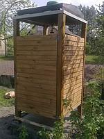Кабины душевые деревянные, летние душевые кабины