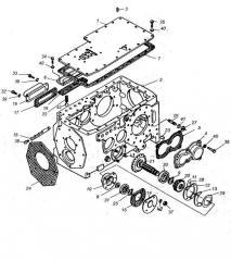 Лист Т30.37.011Б (крышка коробки )колесного