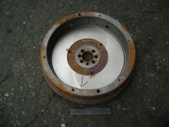 D144-1005300 flywheel assembled with a wreath of