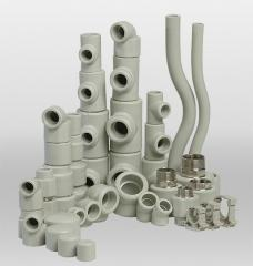 Pipes and fitting - the wide range, wholesale