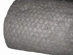 Маты из базальтового супертонкого волокна MagmaWool™ (диаметром 1-2 Мк) на сетке манье.