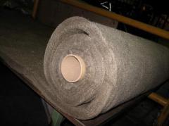 Nonwoven fabrics from basalt superthin MagmaWool™