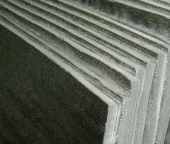 Фольгированный базальтовый картон