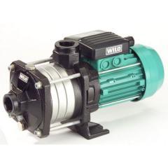 Pumps are horizontal