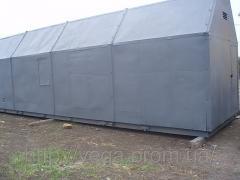 KMT WEAVE transportable boiler installation of