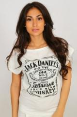 "Футболка №R6 ""Jack Daniel's"" (белый)"
