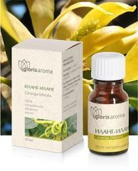 Ylang-ylang essential oil. The most known