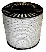 Шнур плетеный капроновый полиамидный диаметром 5-20 мм для крепления, подъема грузов, для упаковки, строительства, в морское деле