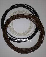 Rings rubber round section