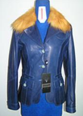 Winter women's jackets leather, wholesale