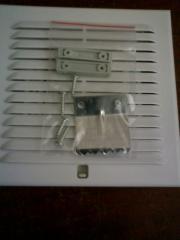 Вентиляционные решетки для приточно - вытяжной