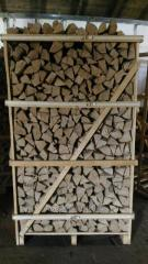 Firewood beech, hornbeam, oak