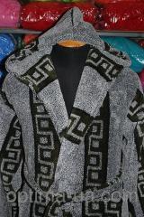Мужской махровый халат Versace