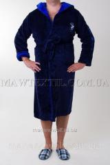 Dressing gown man's Sport blue